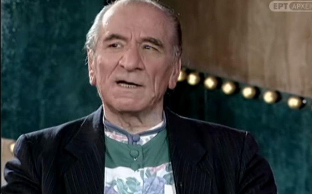 Κώστας Χατζηχρήστος: Μία από τις τελευταίες σπάνιες συνεντεύξεις του στη Δάφνη Μπόκοτα το 1995! [Βίντεο]