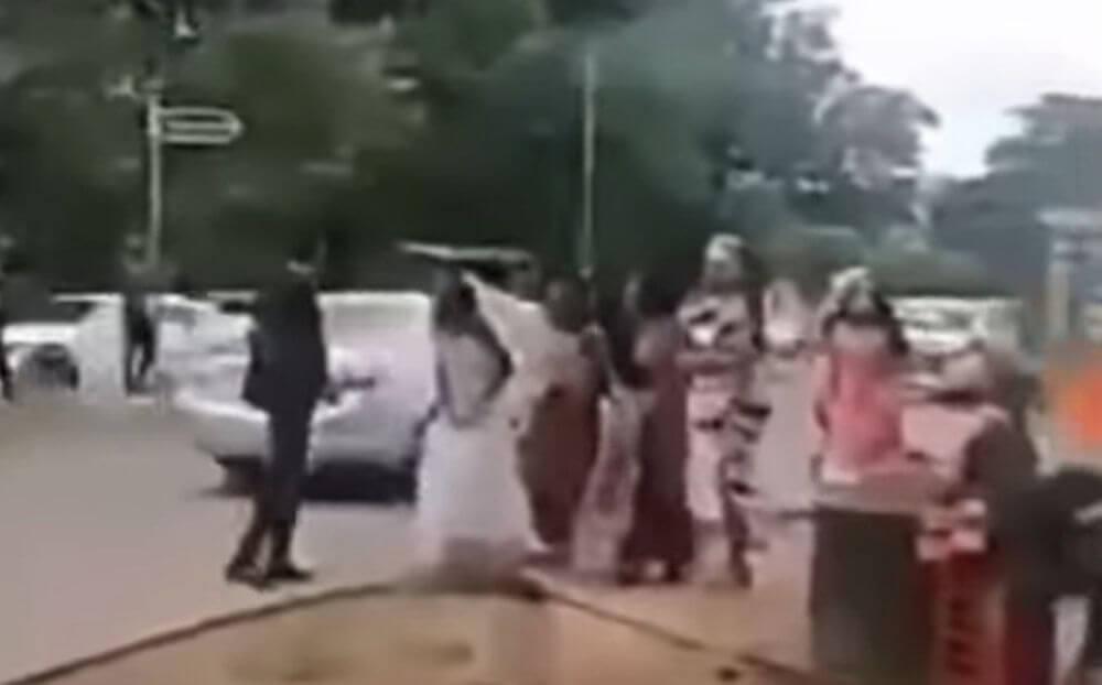 Νύφη μαθαίνει ότι ο γαμπρός την απάτησε, λίγο πριν μπουν στην εκκλησία! (Βίντεο)